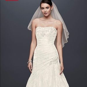 Melissa Sweet A-line lace wedding dress